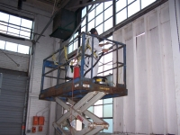 ESSI performs asbestos abatement in large warehouse